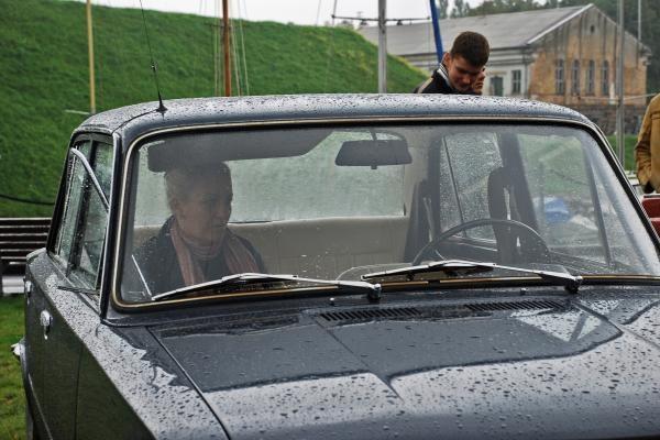 Senoviniai automobiliai Klaipėdoje palydėjo vasarą