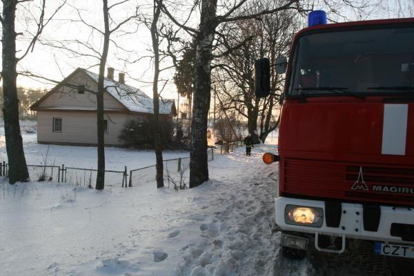 Vilniaus rajone degė pagrindinė mokykla (papildyta)