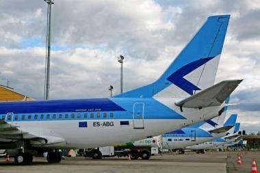 """Iš Vilniaus oro uosto - skrydžiai su """"Estonian Air"""""""