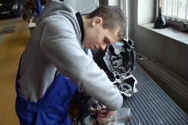 Kauno mechanikos mokykla laukia naujų mokinių