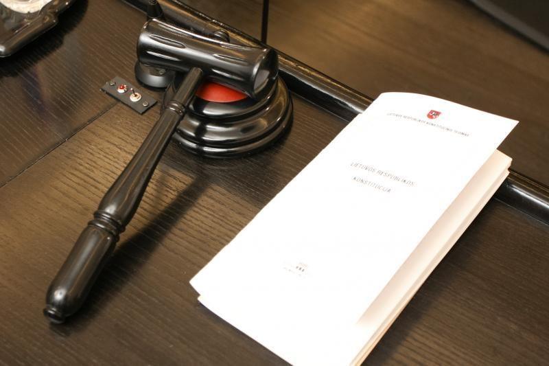 Teisėjams turės būti sudarytos sąlygos susipažinti su slapta medžiaga