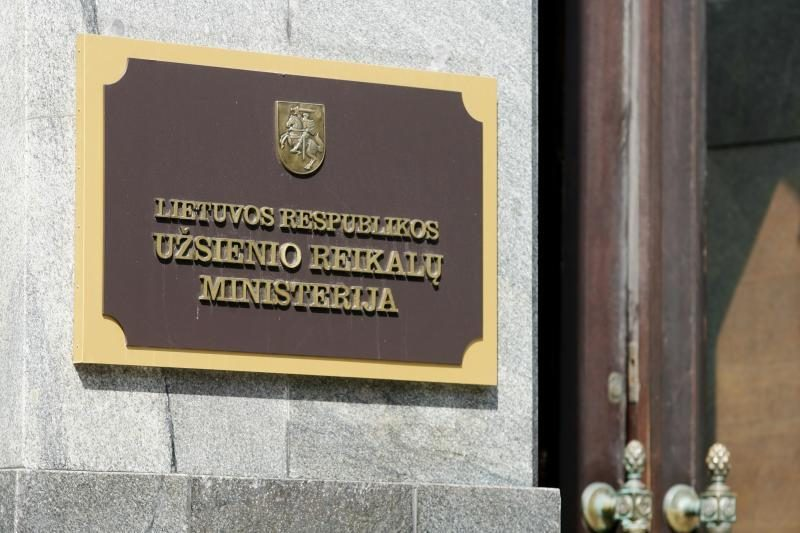 URM siūlo steigti Ekonominės diplomatijos tarybą