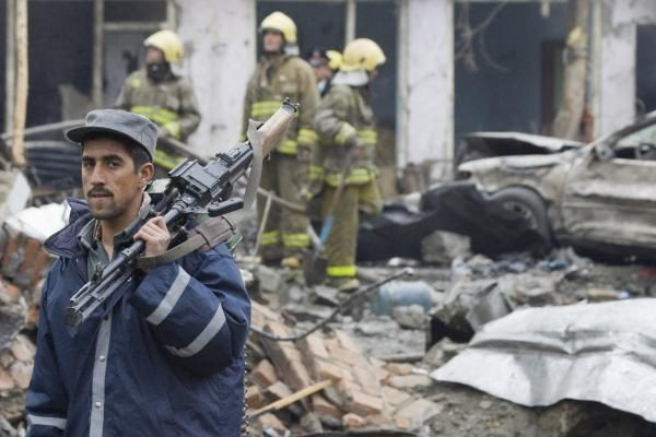 Afganistane per JAV aviacijos smūgį žuvo šeši vietos sukarintų pajėgų nariai