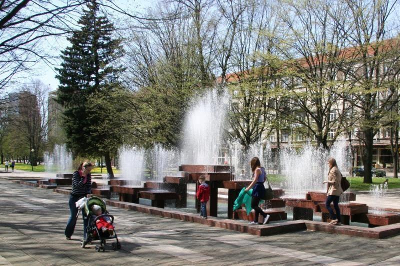 Prižiūrėtojų trims uostamiesčio fontanams surasti nepavyksta