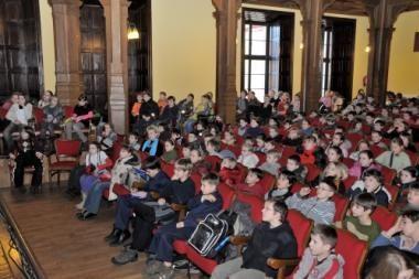 VU Vaikų universiteto studentai baigė žiemos sesiją