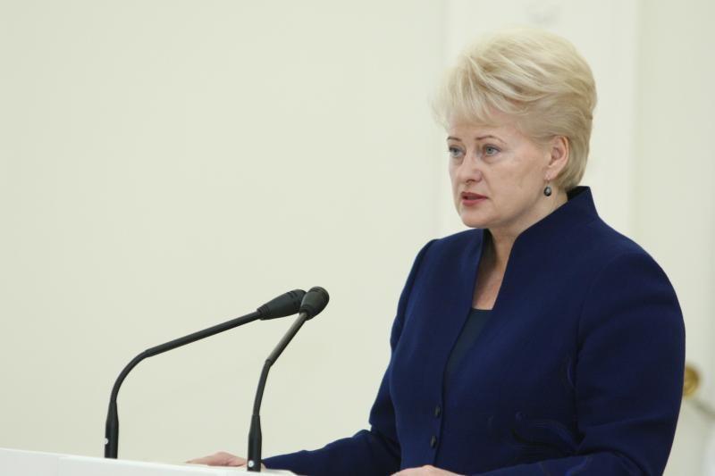"""Prezidentė D.Grybauskaitė pirmadienį lankosi """"Grigiškėse"""""""