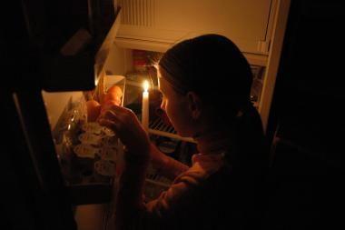 Klaipėdos socialinių butų gyventojams žvakių jau nereikės