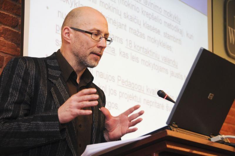 Vilniuje susirinkę mokytojai nusprendė: streikas bus