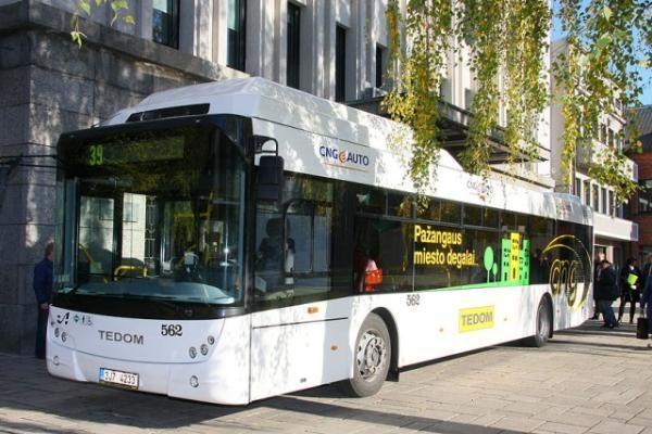 Kauniečiai galės išbandyti ekologišką autobusą