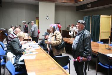 Aktyviausiai balsuojama Neringoje, Klaipėdoje – vangiai