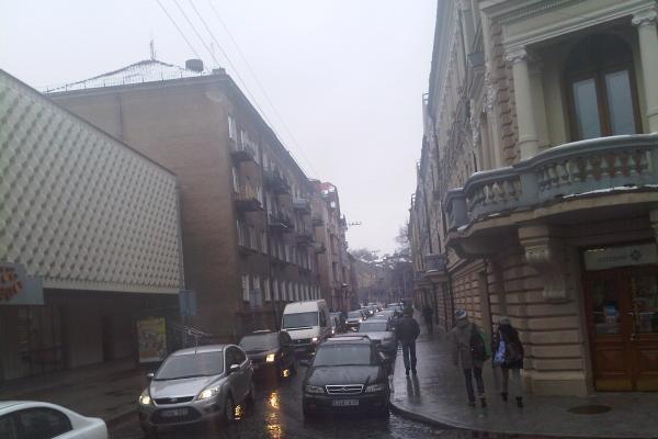 Pasiklydęs vilkikas Vilniaus centre sukėlė spūstis