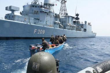 Somalio piratai užgrobė tanklaivį Indijos vandenyne