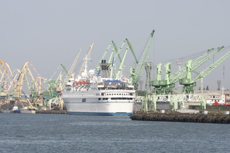 Sezono pabaigai – du kruiziniai laivai Klaipėdos uoste