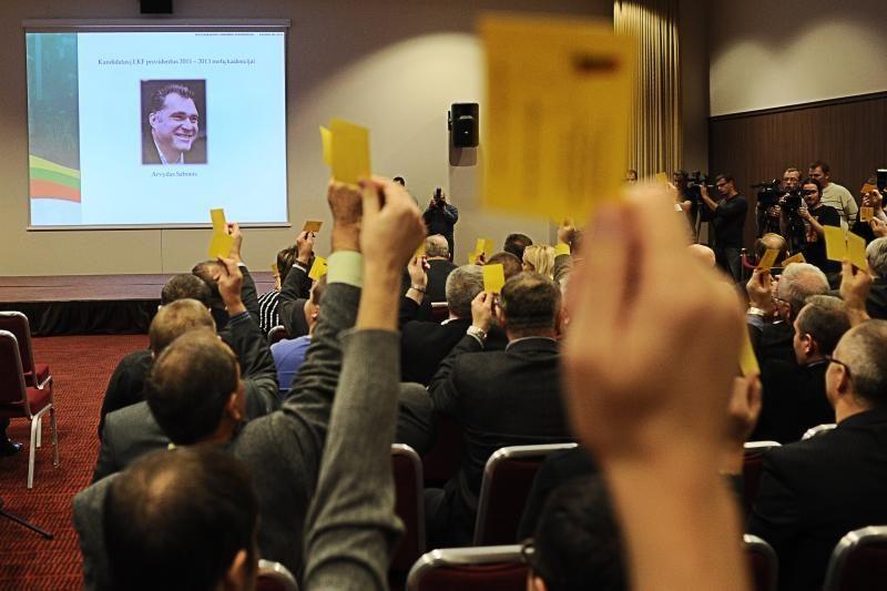 LKF generalinio sekretoriaus pareigas ir toliau eis M.Balčiūnas