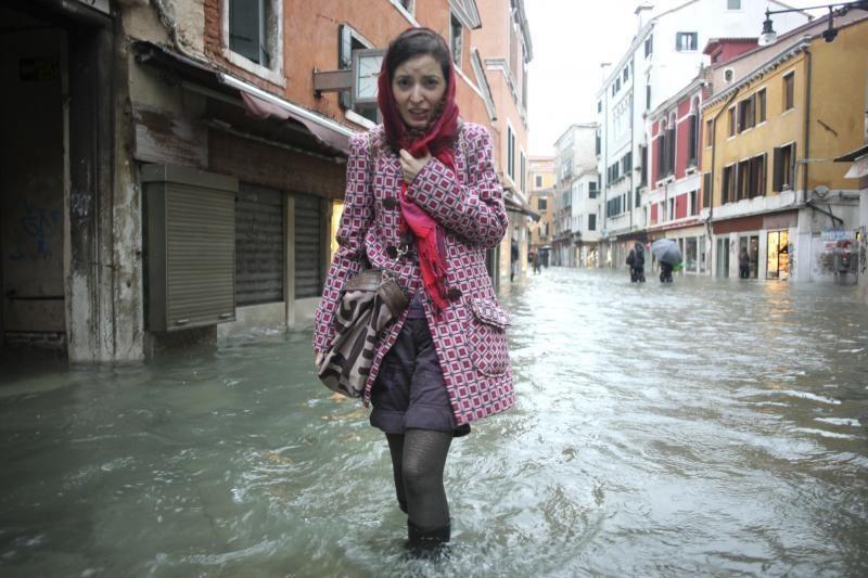 Veneciją skandina šeštas pagal dydį potvynis per 100 metų