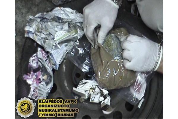 Iš Olandijos pargabentas narkotikų kontrabandos organizatorius