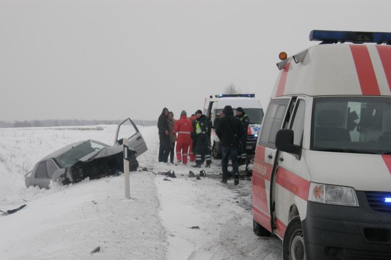 Klaipėdos rajone avarijoje sužalotos trys moterys