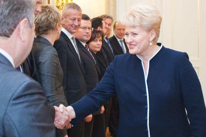 Prezidentės D.Grybauskaitės populiarumas išaugo