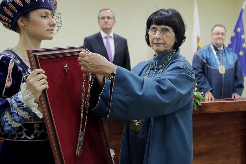 Klaipėdos universitete – nauji garbės daktarai