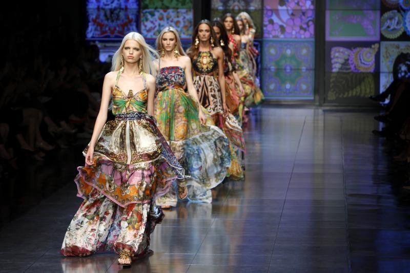 D&G kolekcija įkaitino Milano mados savaitę