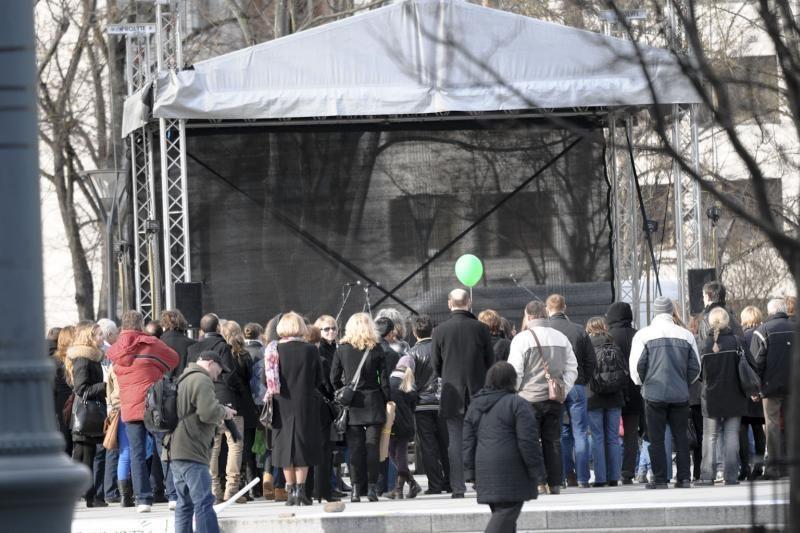 Sostinės centre vyko Žemės dienai skirti renginiai