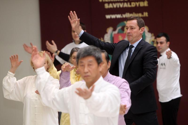 Kinų mankštos entuziastų savivaldybėje neatsirado