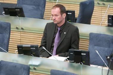 Dėl R.Žilinsko neliečiamybės Seimas spręs sulaukęs LAT verdikto