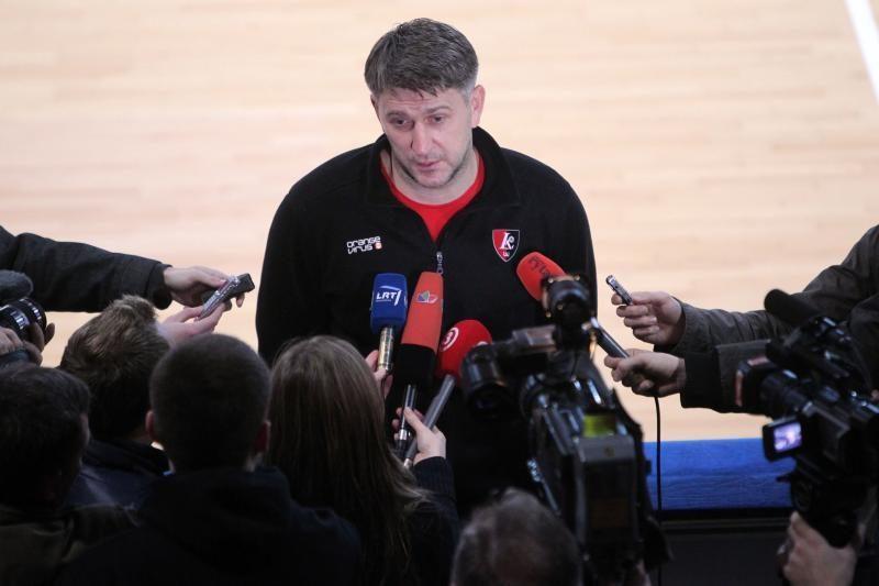 D. Maskoliūnas prieš Eurolygos mūšį: privalome žaisti žymiai geriau