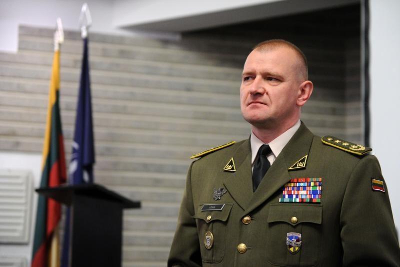 Lietuvos kariuomenės Sausumos pajėgoms vadovaus A.Leika