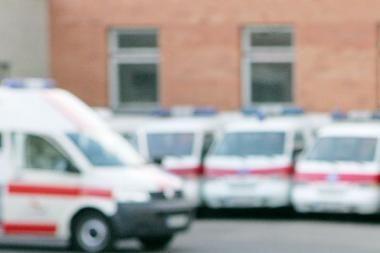 Per avariją sužalota šešiametė