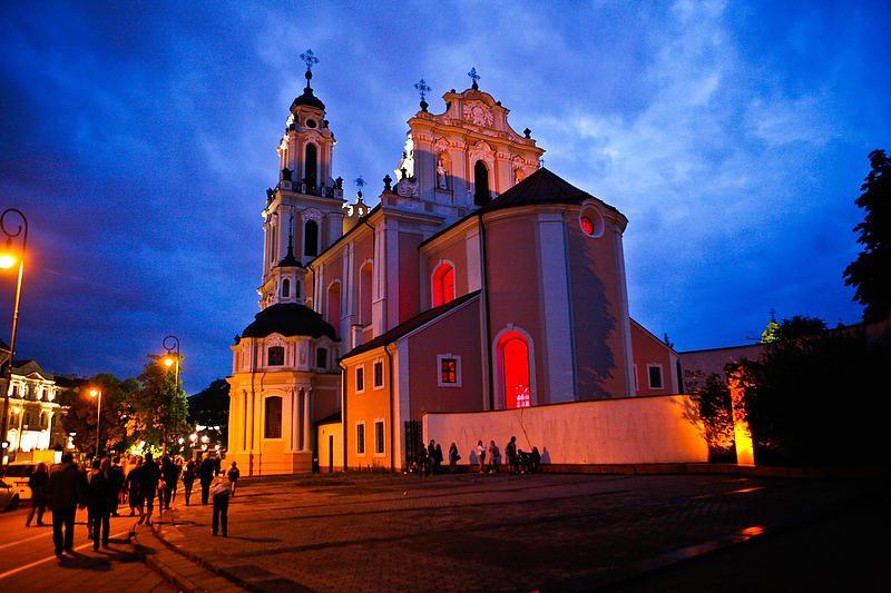 Vilniuje praūžė