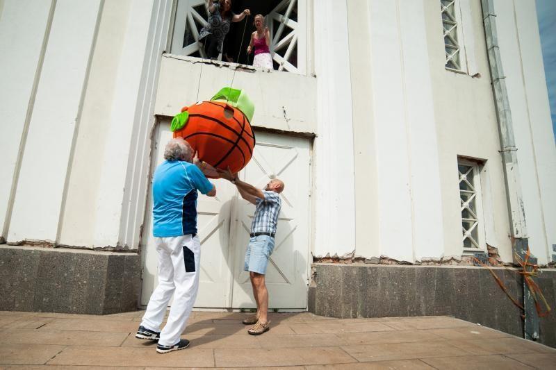 Savo žygį pradėjo Krepšenių    šeimynėlė