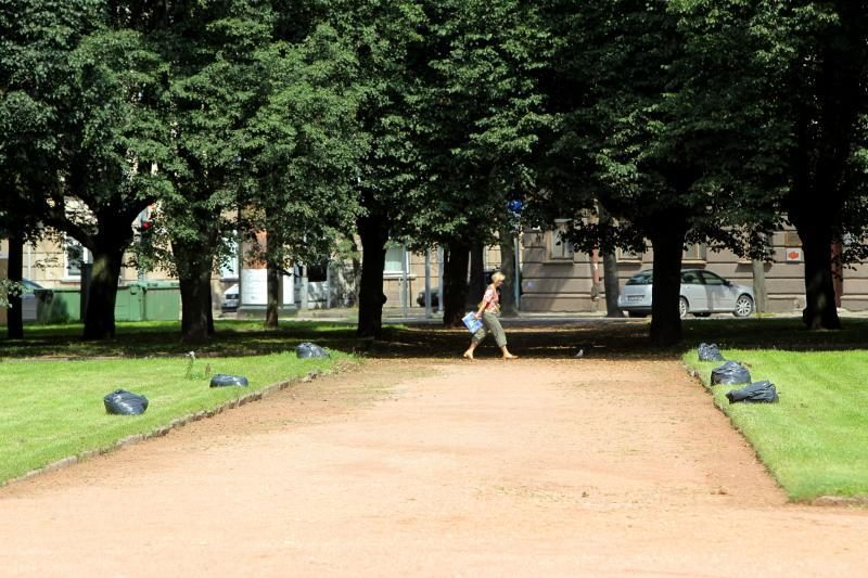 Atsinaujino Lukiškių aikštė