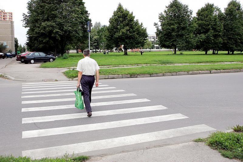Policijos reidas: labiausiai prasikalto pėstieji