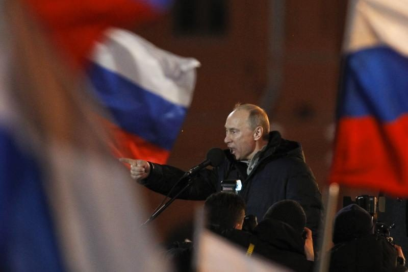 D.Grybauskaitė pasveikino Rusijos prezidentą V.Putiną