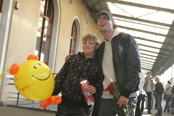 Sugrįžęs Sasha Son(g) mano gėdos Lietuvai nepadaręs