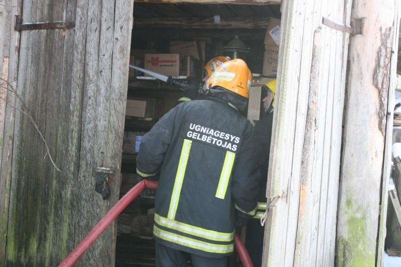 Palangoje pernai gaisrų kilo daugiau nei užpernai