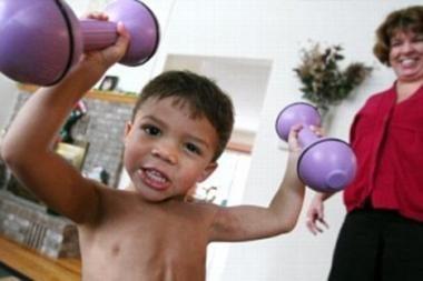Gydytojai baiminasi dėl mažamečio stipruolio sveikatos