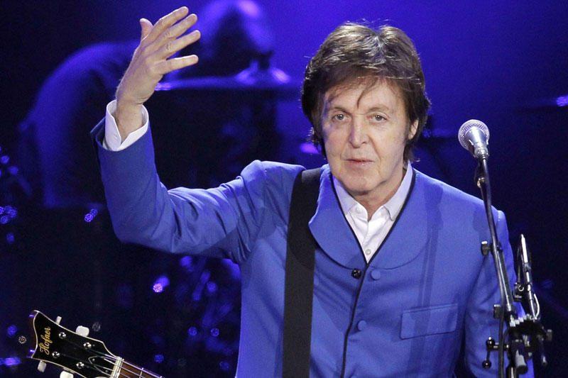 P.McCartney gaus žvaigždę Holivudo šlovės alėjoje