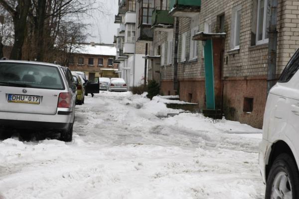 Klaipėdos kiemų ir gatvių valytojams – priekaištų gausa