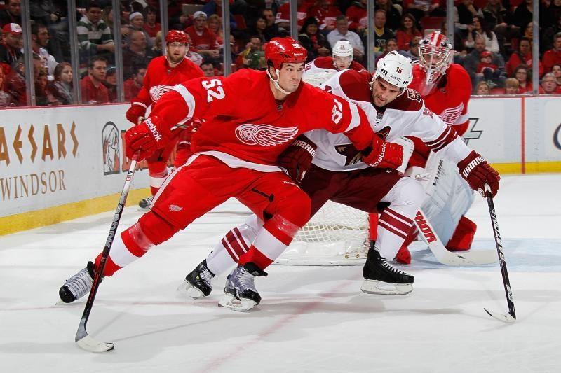 Detroito komanda tęsia pergalių seriją NHL