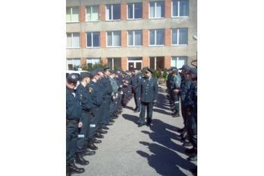 Atlikta Klaipėdos policininkų uniformų apžiūra