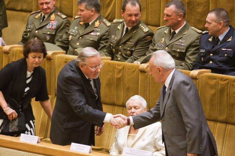 J.Sabatauskas: tremtiniai negalvojo, kad šalis bus taip susiskaldžiusi