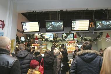 Lietuvos kino teatrų pajamos sumenko beveik 5 procentais