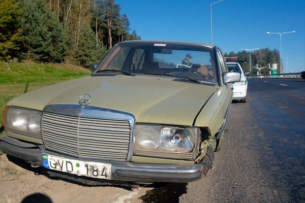 Vilniuje vogtu automobiliu siautėjo narkomanas