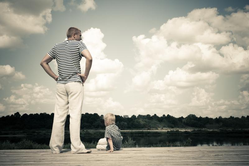 Vaikai, kurių tėčiai kenčia nuo depresijos, turi elgesio sutrikimų