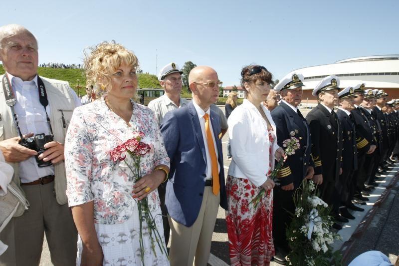 Prezidentė D.Grybauskaitė dėkojo Klaipėdos jūrininkams