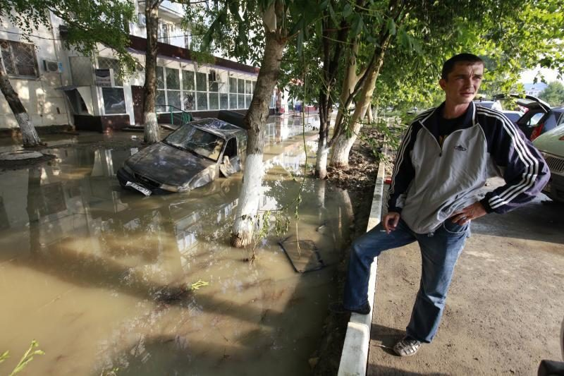 Per potvynį Krasnodaro krašte žuvusių žmonių skaičius perkopė 170