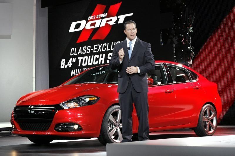 """Detroito automobilių paroda: """"Dodge Dart"""""""