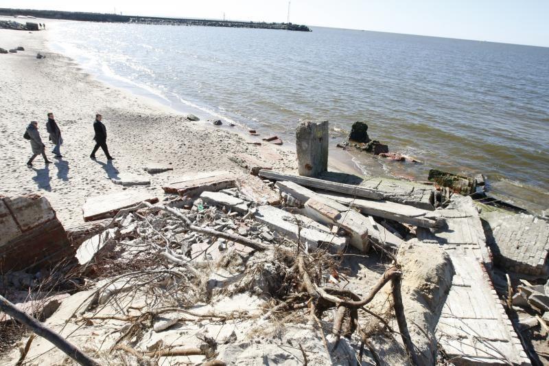 Klaipėdos paplūdimių tvarkymui – minimalios lėšos